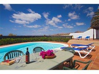 4 bedroom Villa in Puerto Calero, Canary Islands, Spain : ref 5455654