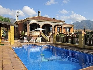 4 bedroom Villa in Casares, Andalusia, Spain : ref 5455015