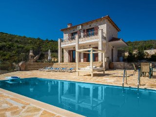 2 bedroom Villa in Koroni, Ionian Islands, Greece : ref 5451928