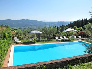 3 bedroom Apartment in Strada in Chianti, Tuscany, Italy : ref 5446740