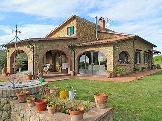 4 bedroom Villa in Casale Marittimo, Tuscany, Italy : ref 5446391