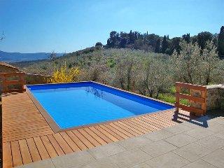 4 bedroom Villa in Poggio Bagnoli, Tuscany, Italy : ref 5446327