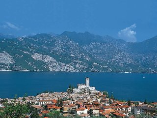 4 bedroom Villa in Malcesine, Veneto, Italy : ref 5438752