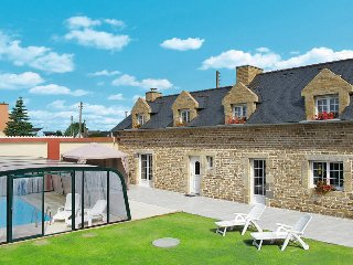 4 bedroom Villa in Plounéour-Trez, Brittany, France : ref 5438338