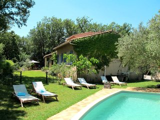 5 bedroom Villa in Forcalqueiret, Provence-Alpes-Cote d'Azur, France : ref 54371