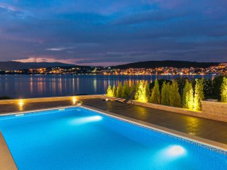 Luxurious second line sea Villa Calla EOS CROATIA with outdoor and indoor pool
