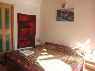 The Crazy Indian Pad - Bedroom 3 with double bed