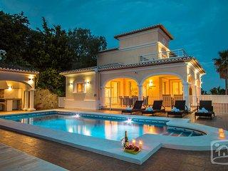 5 bedroom Villa in Moraira, Valencia, Spain : ref 5401517