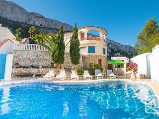 4 bedroom Villa in Calpe, Valencia, Spain : ref 5401515