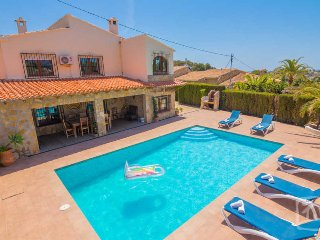 6 bedroom Villa in Benissa, Valencia, Spain : ref 5401437