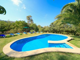 Catalunya Casas: Charming Villa Faro for 8 guests, just 3km to Pollenca town!