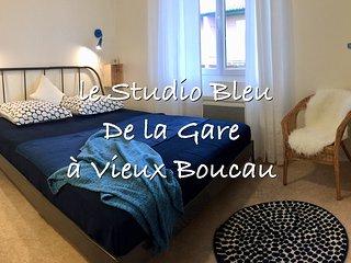 Le Studio bleu de la gare à Vieux Boucau