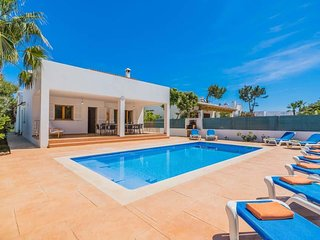 5 bedroom Villa in Cala Egos, Balearic Islands, Spain : ref 5334603