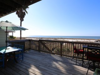 WOW! Oceanfront, newly remodeled 3 bd/3ba home right on the sand!