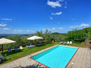 4 bedroom Apartment in San Polo in Chianti, Tuscany, Italy : ref 5241867
