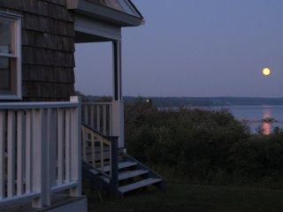 Evening at Shipwright's Cottage in Gunning Cove, Nova Scotia