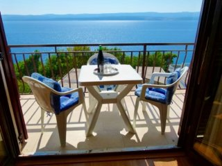 Apartments Pava- Studio Apartment with Balcony and Sea View