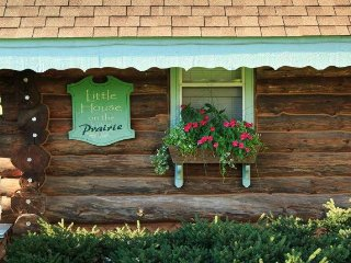 Little House on the Prairie Log Cabin