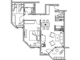 2 bedroom Apartment in Fidaz, Canton Grisons, Switzerland : ref 5081289