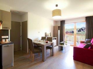 2 Bedroom Apartmen att Odalys Prestige Residence Front de Neige