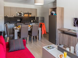 1 BR Apartment + Alcove at Odalys Prestige Residence Front de Neige