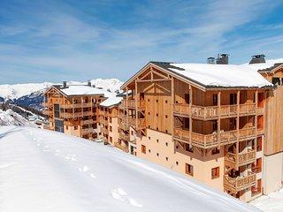 Appartement de Montagne Cosy avec Balcon + Wi-Fi GRATUIT