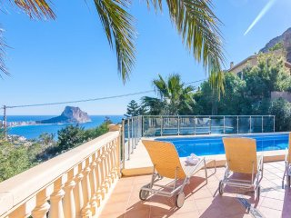 5 bedroom Villa in Calpe, Valencia, Spain : ref 5047267