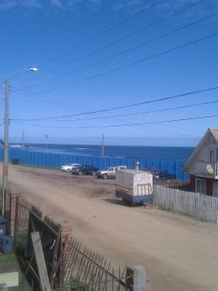 View from front window with Infernillo surf break in the distance.