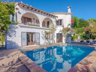 Villa Amandiere en Benissa,Alicante,para 12 huespedes