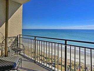 NEW! Oceanfront 2BR Myrtle Beach Resort Penthouse