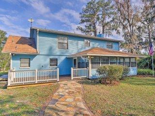 Gorgeous Waldo Home w/ New Dock on Santa Fe Lake!