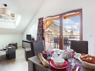 2 Bedroom Apartment at Residence Aquisana by Odalys at Serre Chevalier