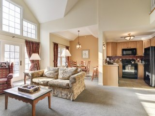 G's Beautiful 2BR/2BA condo-Nature View #P-22 * Mountain Creek Ski Resort