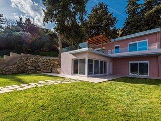 Louloudi Hills Koskinou 2, new modern villa in unique location, Private Pool