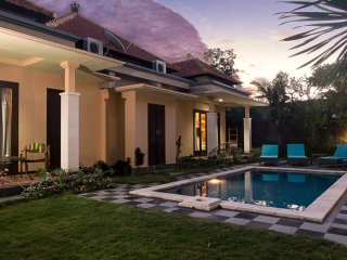 2 bedroom cozy villa Georges II 300 m to the beach