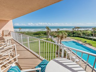 Best views in Cocoa Beach! Family friendly, on the beach and right by the Pier!