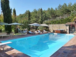 4 bedroom Villa in Barbischio, Tuscany, Italy : ref 5491615