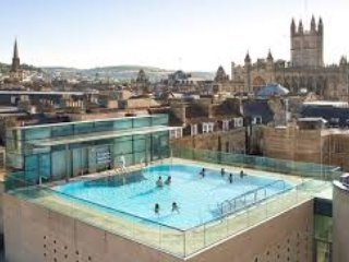 Indulge yourself in the open air heated rooftop Spa