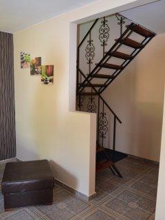 duplex apartament, bedrooms is situated al level 1.