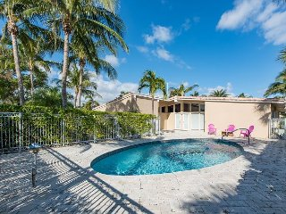 Fine Architectural Details on Waterfront 3BR w/ Pool, Patio – Beach 1 Block!