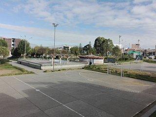 Vista exterior del apartamento (Parque - complejo deportivo Miguel Graú - Huancayo)