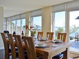 Dining for 8 with outstanding views