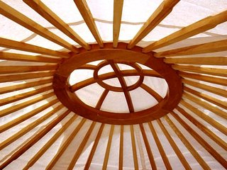 Yurt for up to 5 guests