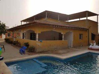 Senegalici plage300m 5pers wifi villa confort services inclus Warang Mbour Saly