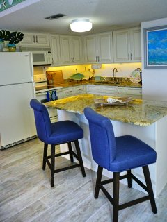 The Kitchen With Granite