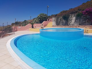 Apartment bilo plus 25 in residence with swimming pool and seaview