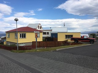 Garður, Restored house in old part of town