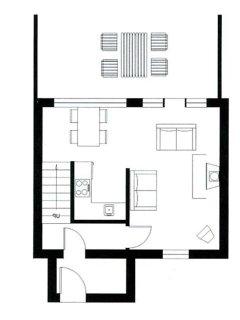 Douglas Fir downstairs layout