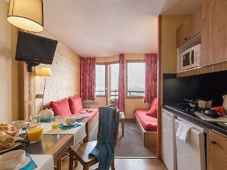 Standard 1 BR Apartment for 5 at Residence L'Ours Blanc, L'Alpe D'Huez