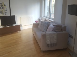 Luxury 2 bed 2 bath Canary Wharf home